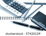 office accessories | Shutterstock . vector #57420139