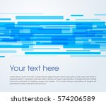 vector abstract rectangle... | Shutterstock .eps vector #574206589