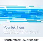vector abstract rectangle... | Shutterstock .eps vector #574206589
