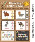clip cards matching game of... | Shutterstock .eps vector #574218694