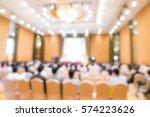 abstract blur business... | Shutterstock . vector #574223626