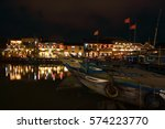 Hoi An Town By Night Beside...
