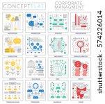 infographics mini concept...   Shutterstock .eps vector #574226014