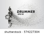 the drummer of the particles....