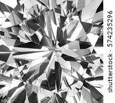 realistic diamond texture close ... | Shutterstock . vector #574235296