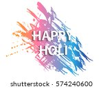 holi background design elements  | Shutterstock .eps vector #574240600