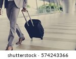 businessmen luggage business... | Shutterstock . vector #574243366