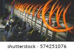 control panel with wiring | Shutterstock . vector #574251076