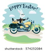 vector funny cartoon... | Shutterstock .eps vector #574252084