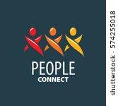vector logo people | Shutterstock .eps vector #574255018