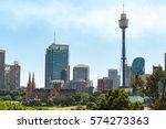 Sydney Cityscape With St Marys...