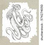 cards  tarot deck author. ... | Shutterstock . vector #574274050