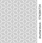 seamless geometric line pattern ... | Shutterstock .eps vector #574284724