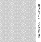seamless geometric line pattern ... | Shutterstock .eps vector #574284730