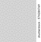 seamless geometric line pattern ... | Shutterstock .eps vector #574284769