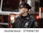new york  usa   may 02  2016 ... | Shutterstock . vector #574306720