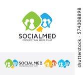 social media  social  people ... | Shutterstock .eps vector #574308898