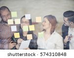 startup business people group...   Shutterstock . vector #574310848
