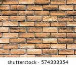 brick wall for background | Shutterstock . vector #574333354