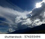 clouds mountains moody sky's | Shutterstock . vector #574355494