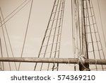 Sepia Filtered Image  Of Mast...