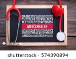 men's health general health... | Shutterstock . vector #574390894
