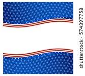 patriotic background | Shutterstock .eps vector #574397758