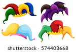 Jester Hats In Different Color...