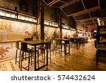 barcelona  spain   january 05... | Shutterstock . vector #574432624