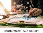 business team meeting. photo... | Shutterstock . vector #574433284