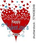 valentine's day | Shutterstock .eps vector #574438348