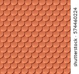 Copper Tiles Roof Seamless...