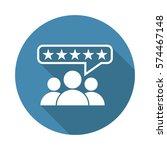customer reviews  rating  user... | Shutterstock .eps vector #574467148