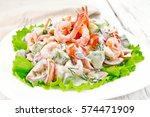 Salad With Shrimp  Avocado ...