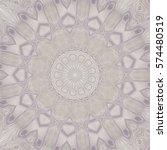 creative color mandala. square... | Shutterstock . vector #574480519