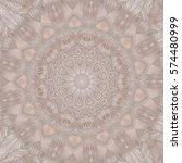 creative color mandala. square... | Shutterstock . vector #574480999