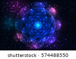 sacred geometry symbols and... | Shutterstock .eps vector #574488550