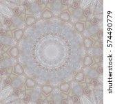 creative color mandala. square... | Shutterstock . vector #574490779