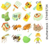 Pest Control Terminate Icons...