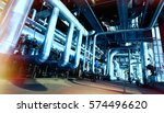 industrial zone  steel... | Shutterstock . vector #574496620
