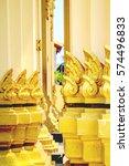 thai temple architecture | Shutterstock . vector #574496833