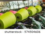 industrial textile factory ...   Shutterstock . vector #574504606