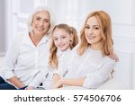 three generations of the family ... | Shutterstock . vector #574506706