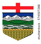 shield of alberta | Shutterstock .eps vector #574507288