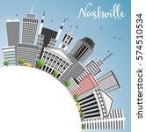 nashville skyline with gray...