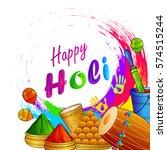 vector illustration of india... | Shutterstock .eps vector #574515244