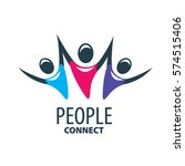 vector logo people | Shutterstock .eps vector #574515406