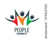 vector logo people   Shutterstock .eps vector #574515703