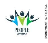vector logo people   Shutterstock .eps vector #574515766