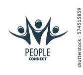 vector logo people | Shutterstock .eps vector #574515859